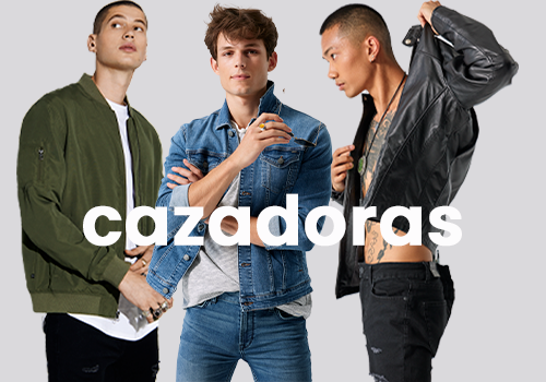 CAZADORAS HOMBRE ONLY AND SONS